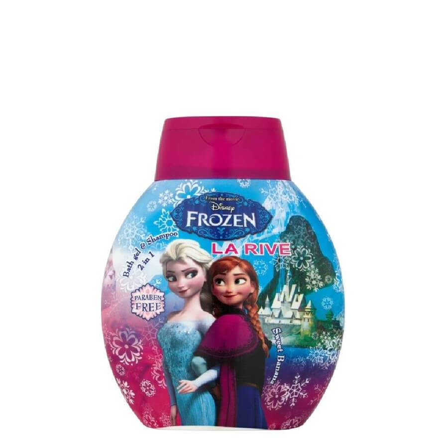 La Rive Disney Frozen 2in1 Shampoo & Bath Gel Sweet Banana for Kids
