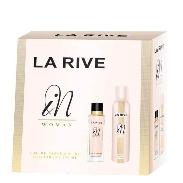 La Rive Gift Set EDP 90ml & Deodorant 150ml In Woman