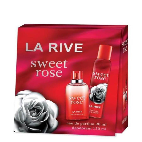 La Rive Gift Set EDP 90ml & Deodorant 150ml Sweet Rose