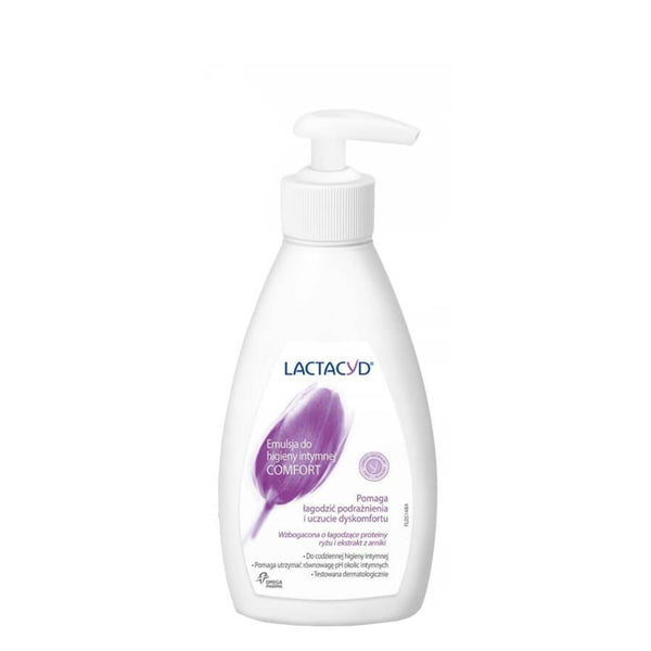 lactacyd comfort 200ml soothing intimate emulsion