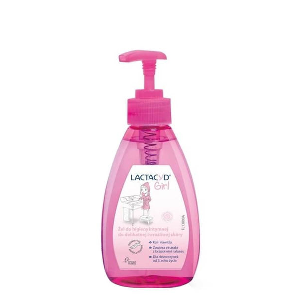 lactacyd girl intimate hygiene gel 200ml