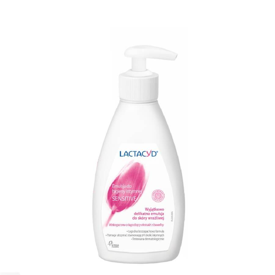 lactacyd sensitive intimate hygiene care with pump