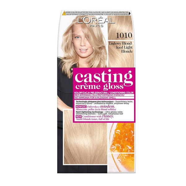 L'Oreal Paris Casting Crème Gloss hair dye Bright ice blond 1010