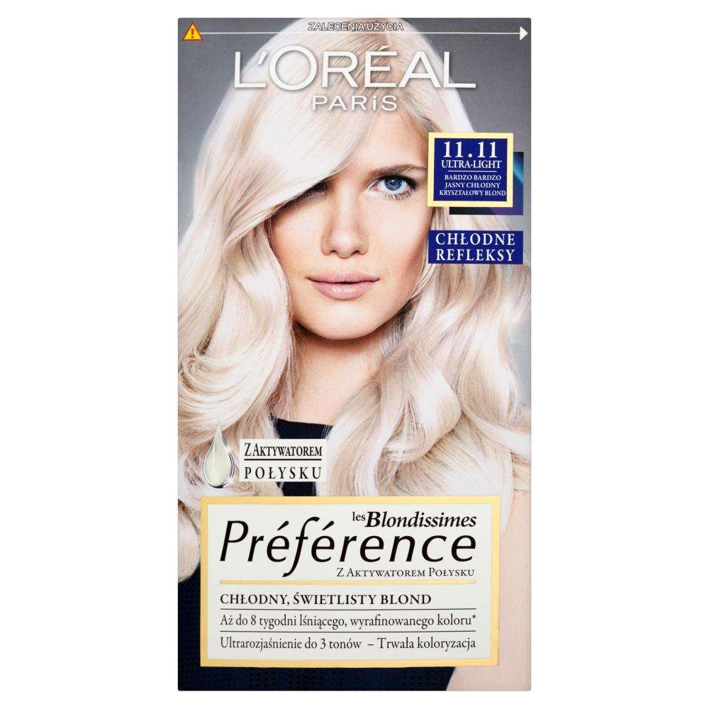 L'Oreal Paris Les Blondissimes Preference hair dye 11.11 Ultra-Light