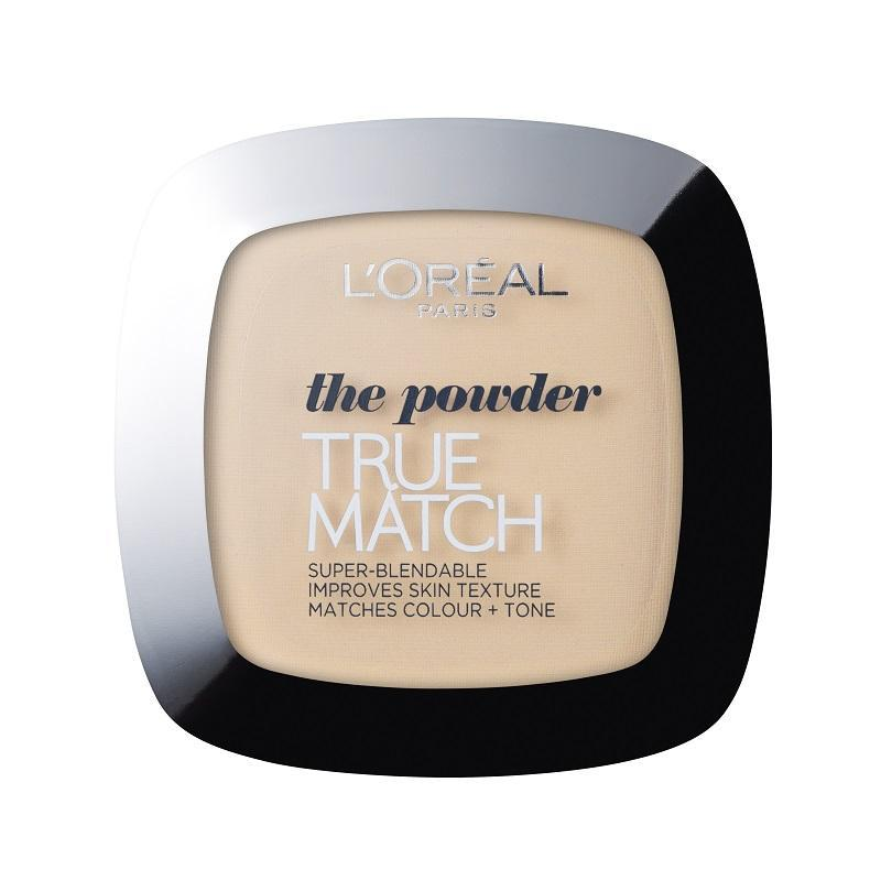 L'Oreal Paris True Match Powder matting powder-W1 D1 Golden Ivory 9g