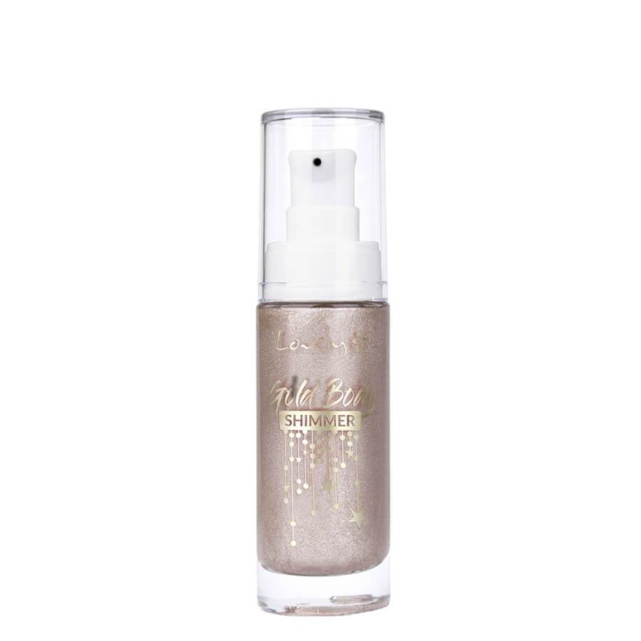 Lovely Illuminating & Highlighting Gold Body Shimmer Oil