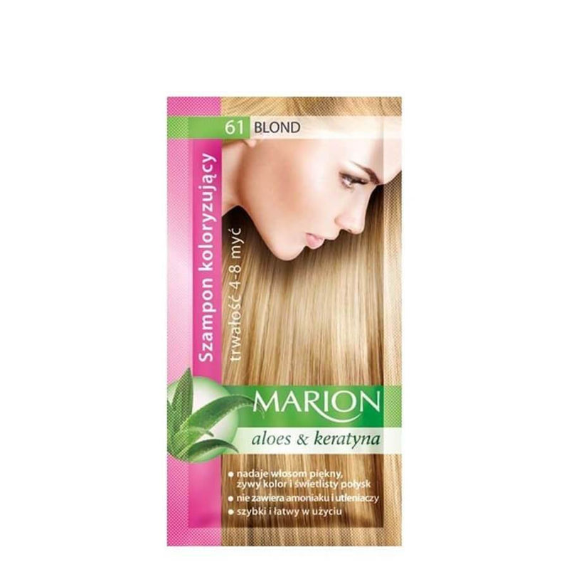 marion colouring hair shampoo 61 blonde