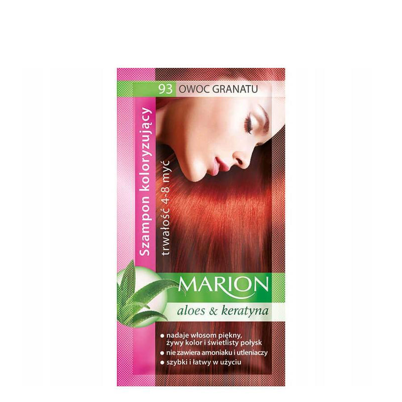 marion colouring hair shampoo 93 pomegranate