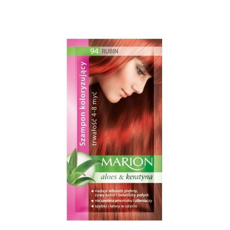 marion colouring hair shampoo 94 ruby