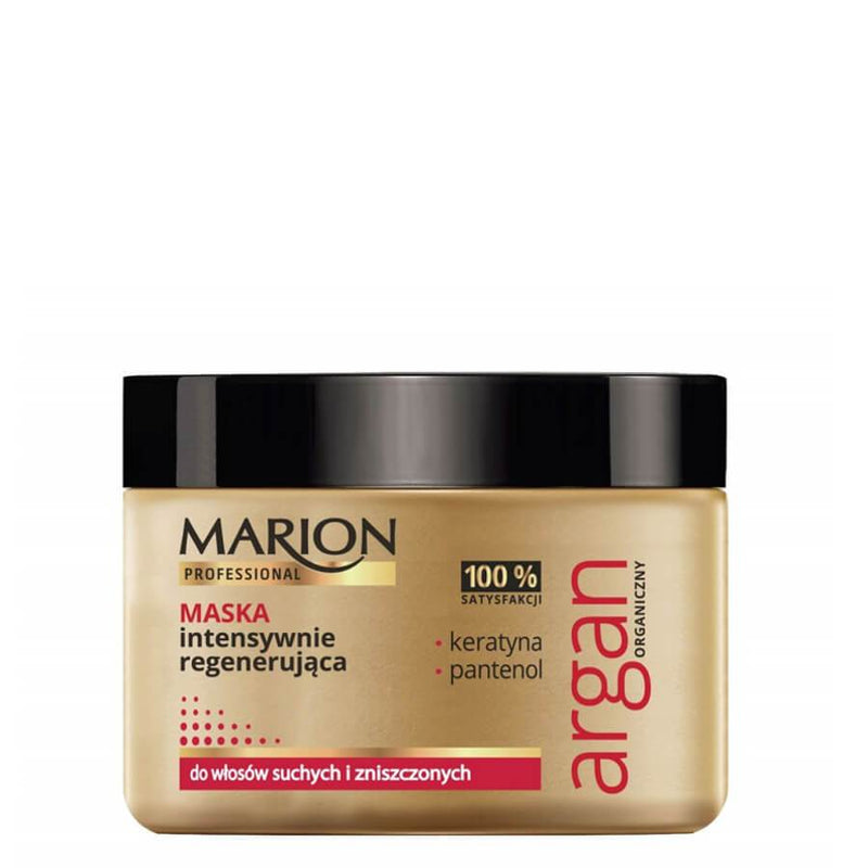 marion argan regenerating hair mask 450g