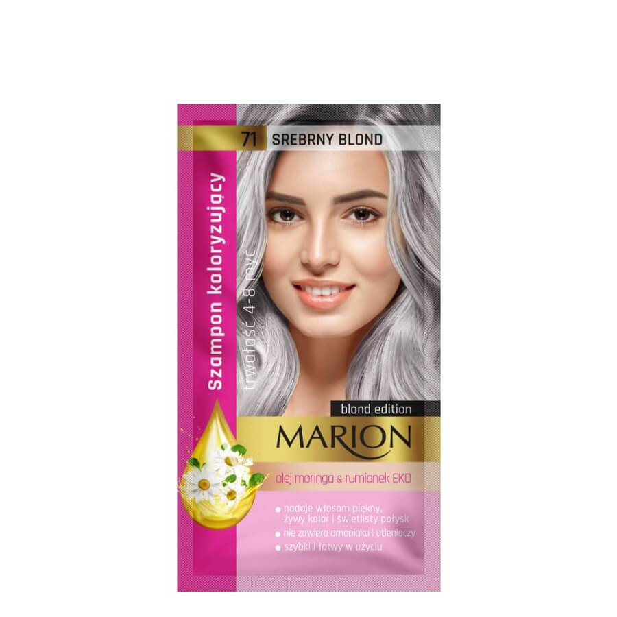 marion coloring shampoo blond edition blone hair 70