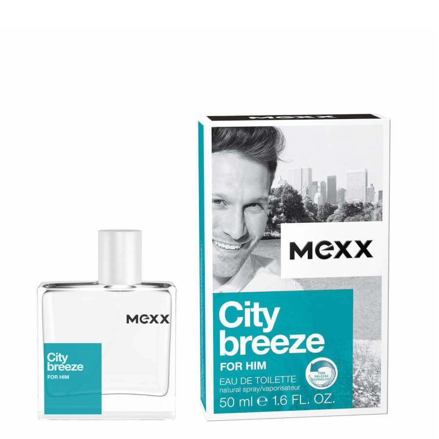 Mexx City Breeze Eau de Toilette EDT for Him 30ml