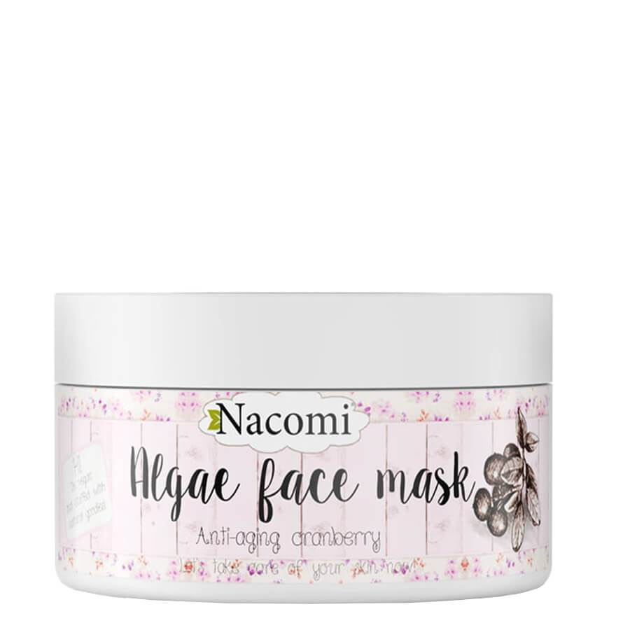 nacomi natural face mask anti aging cranberry