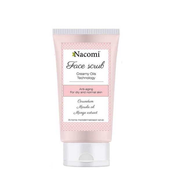 nacomi natural anti age face scrub peeling dr and normal skin