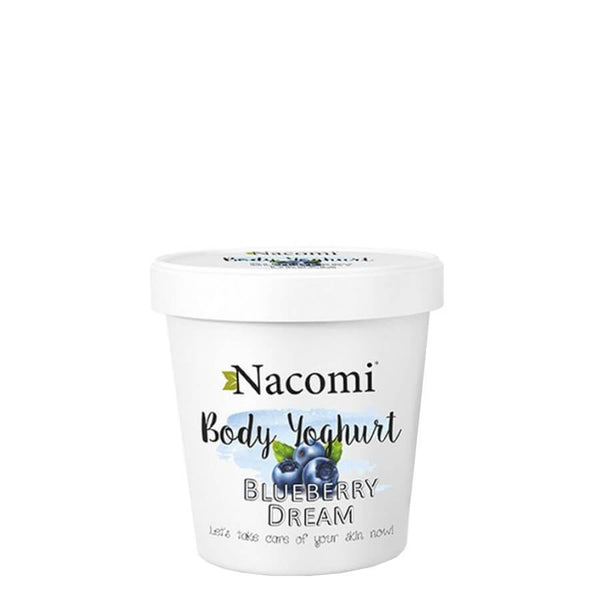 nacomi body yoghurt blueberry body care