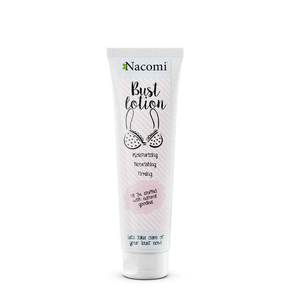 nacomi firming bust lotion 150ml vegan