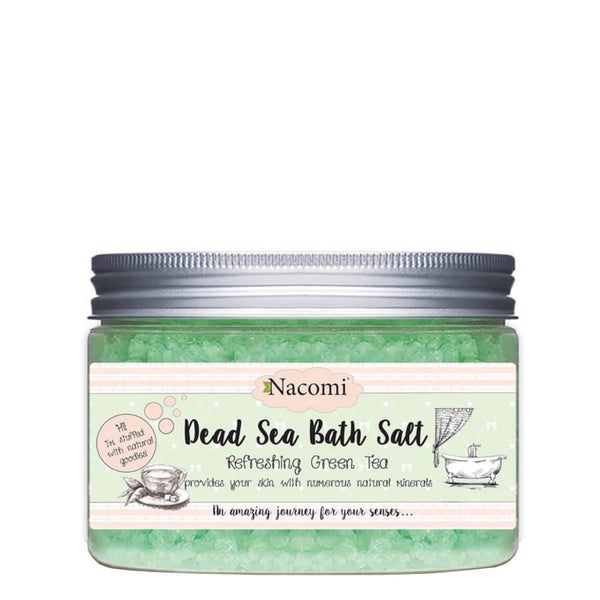 nacomi bath salt refreshing green tea