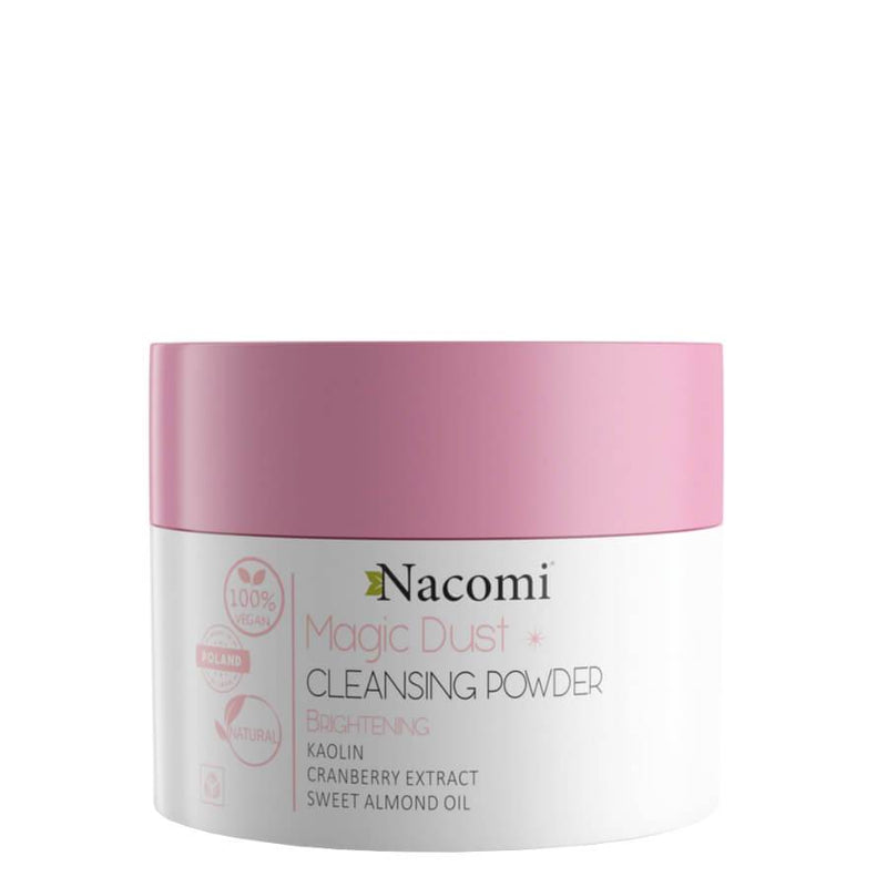 nacomi cleansing dust powder vegan 20ml