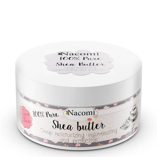 nacomi natural shea butter 100ml