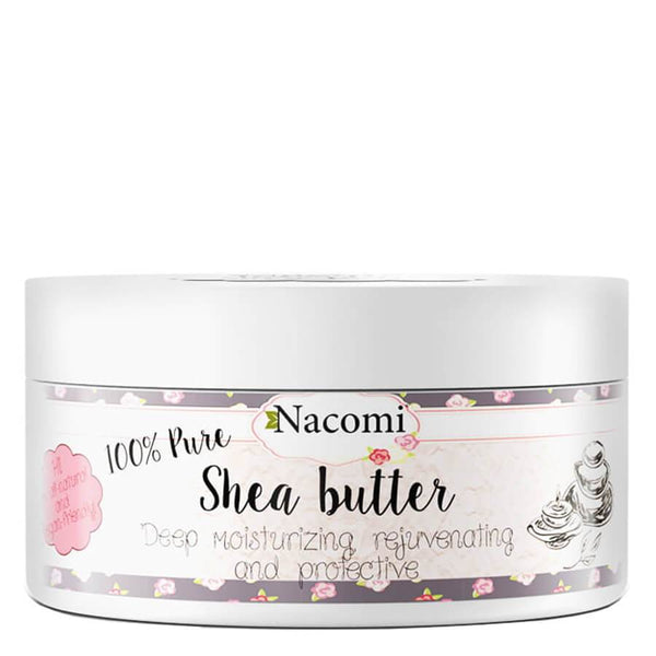 nacomi natural and vegan pure clear shea butter