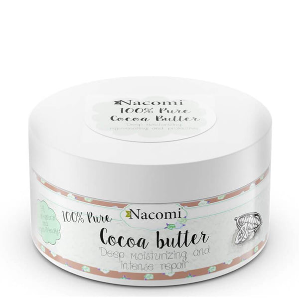nacomi natural body cocoa butter pure vegan