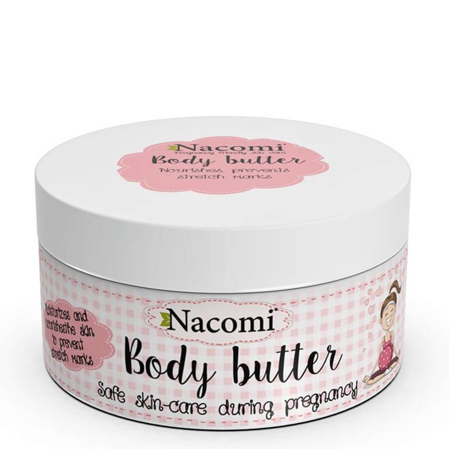 nacomi natural vegan body butter for women in pregnant 100ml