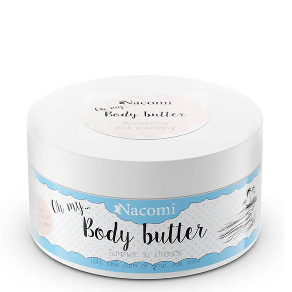nacomi vegan body butter summer in greece