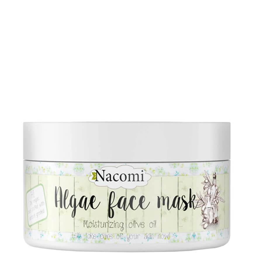 nacomi natural vegan algae mask moisturizing 42g