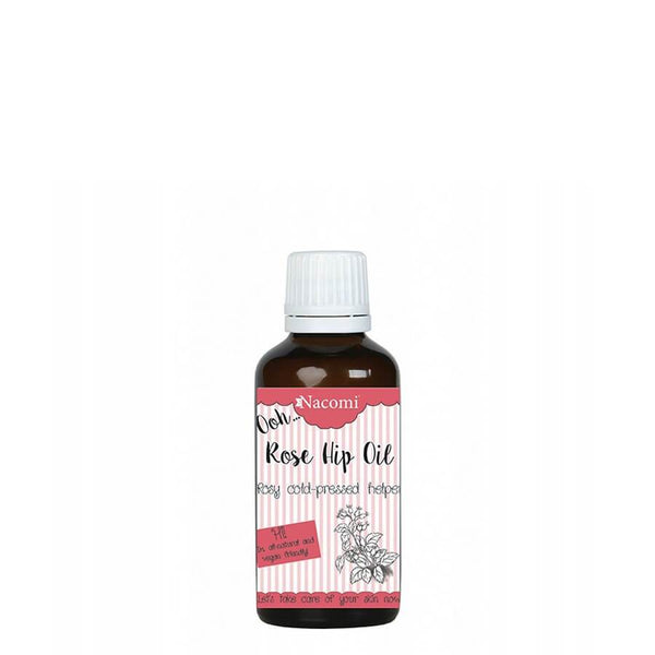 nacomi natural vegan rose oil 30ml