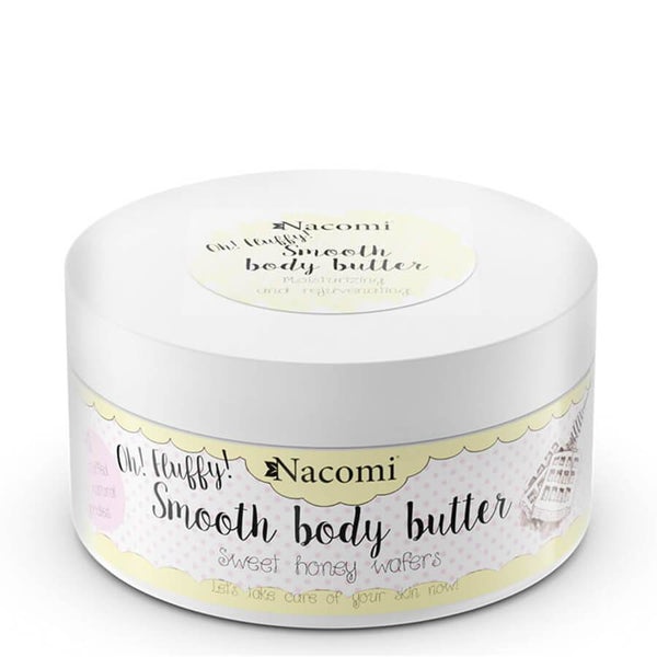 nacomi moisturizing smooth body butter sweet honey wafers