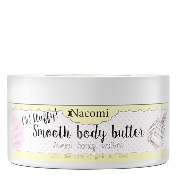 nacomi moisturizing smooth body butter 100g sweet honey wafers