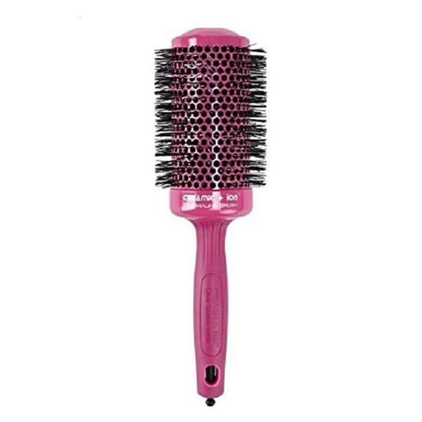 Olivia Garden Thermal Ceramic + Ion Hair Brush Pink 55