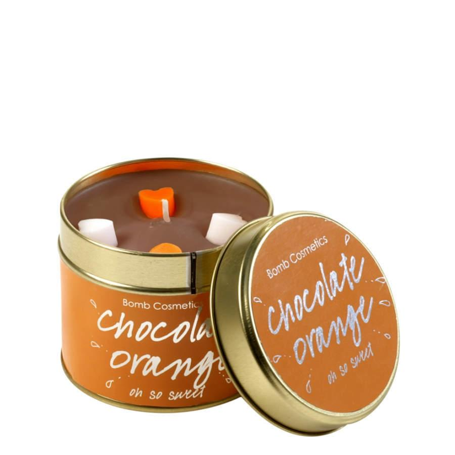 Bomb Cosmetics Chocolate Orange Candle