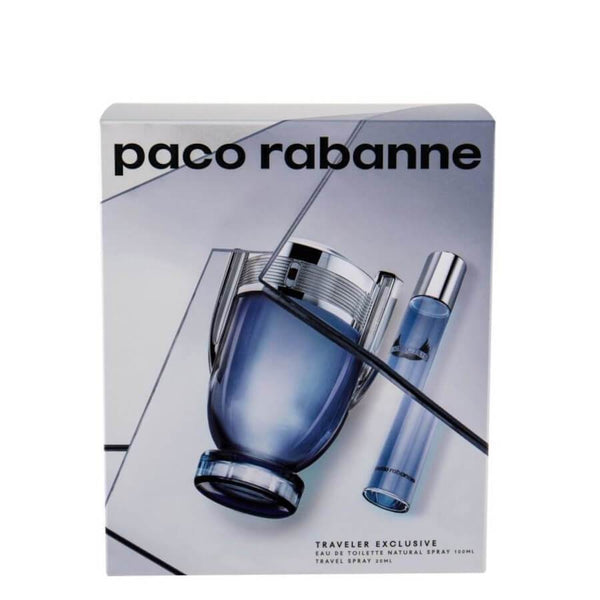 Paco Rabanne Invictus  Gift Set EDT 100ml & Miniature EDT 20ml