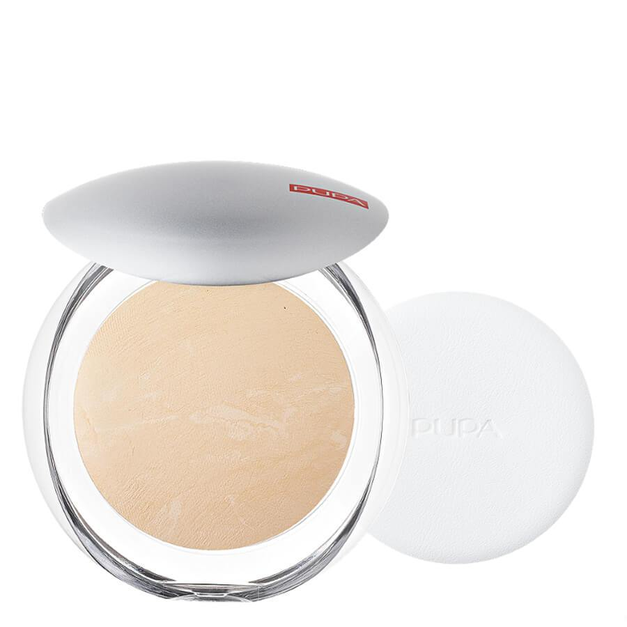 pupa milano pressed powder luminys silky powder 01