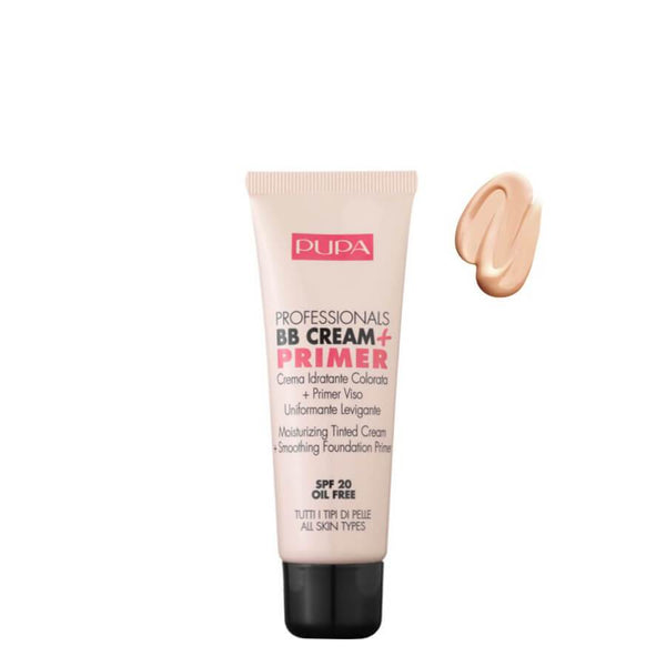 pupa milano bb cream primer spf20 001 nude all skin types