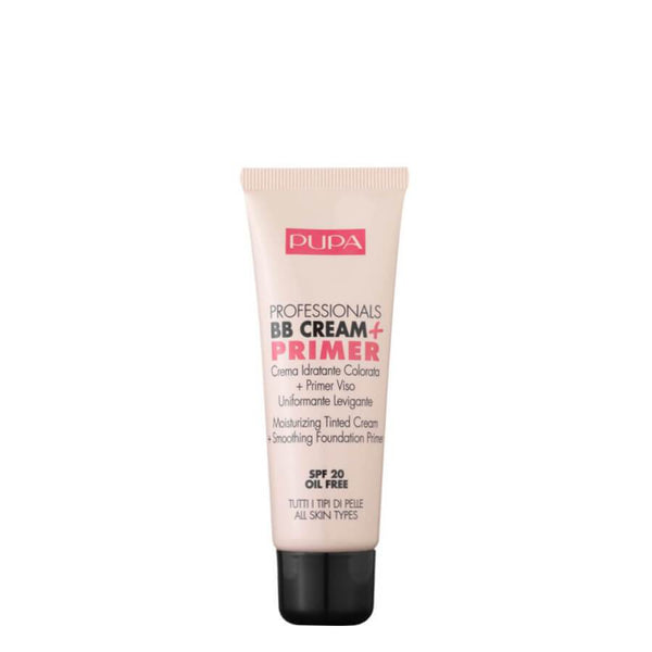 pupa milano bb cream and primer spf20 all skin types