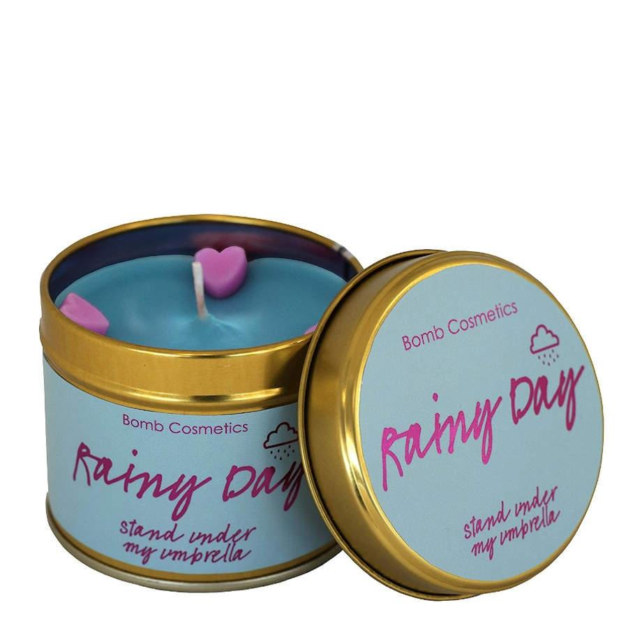 Bomb Cosmetics Rainy Day Tinned Candle