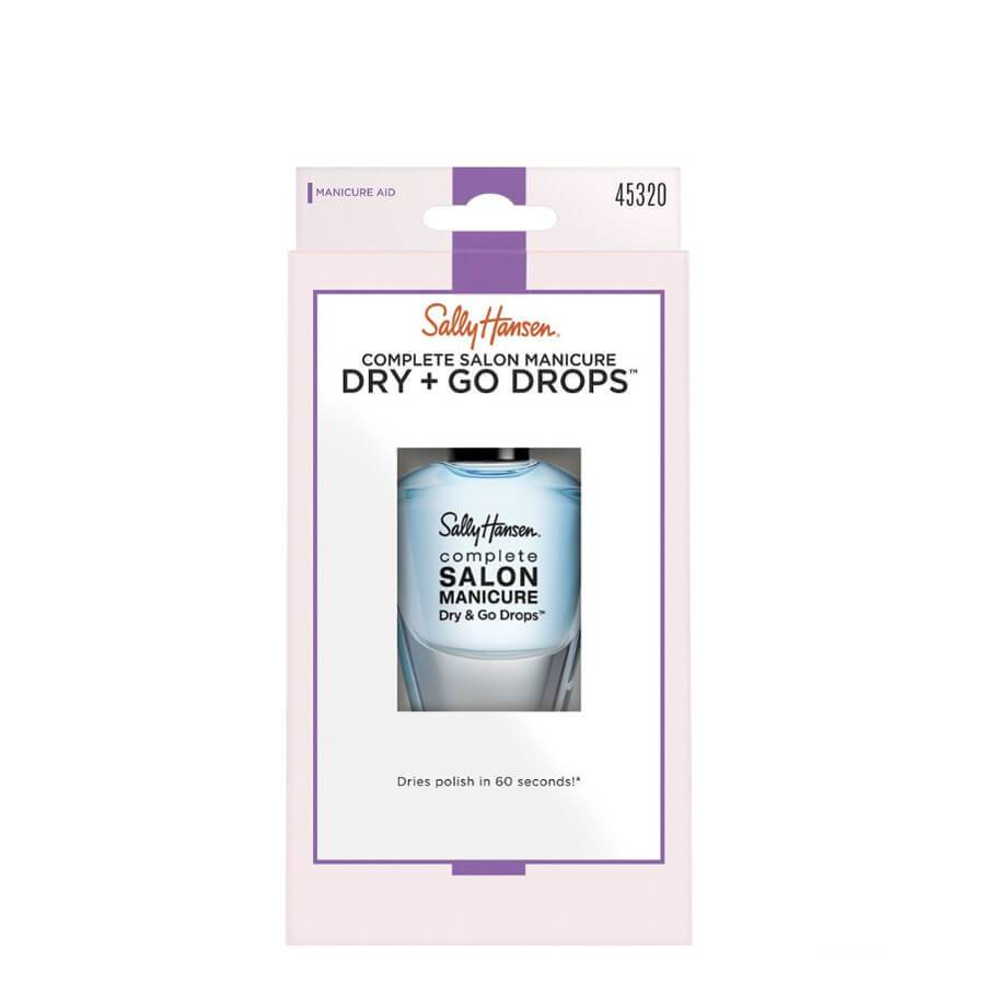 Sally Hansen Varnish Dry and Go Drops dryer drops finish fast drying