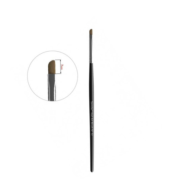 Semilac Nail Art Kolinsky Brush N-12