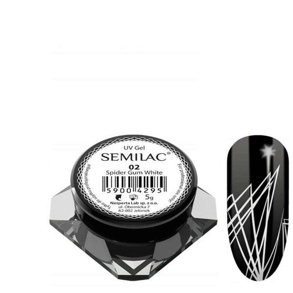 Semilac Spider Gum Gel white