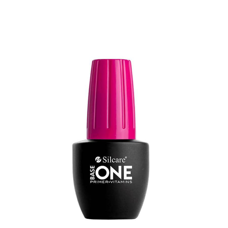 base one silcare primer vitamins prep nail gel no bubbles lifting sensitive nails