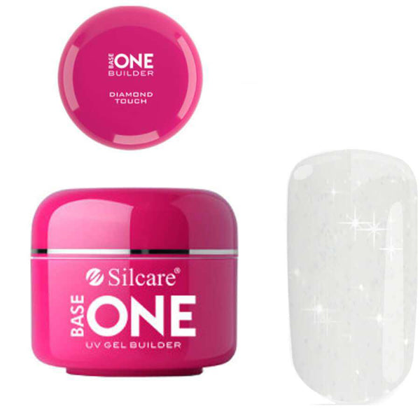 silcare base one builder gel diamond touch