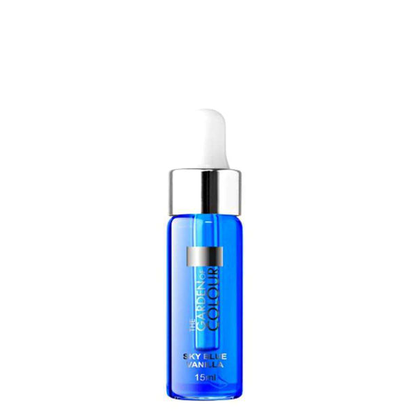 silcare cuticle oil vanilla sky blue 15ml