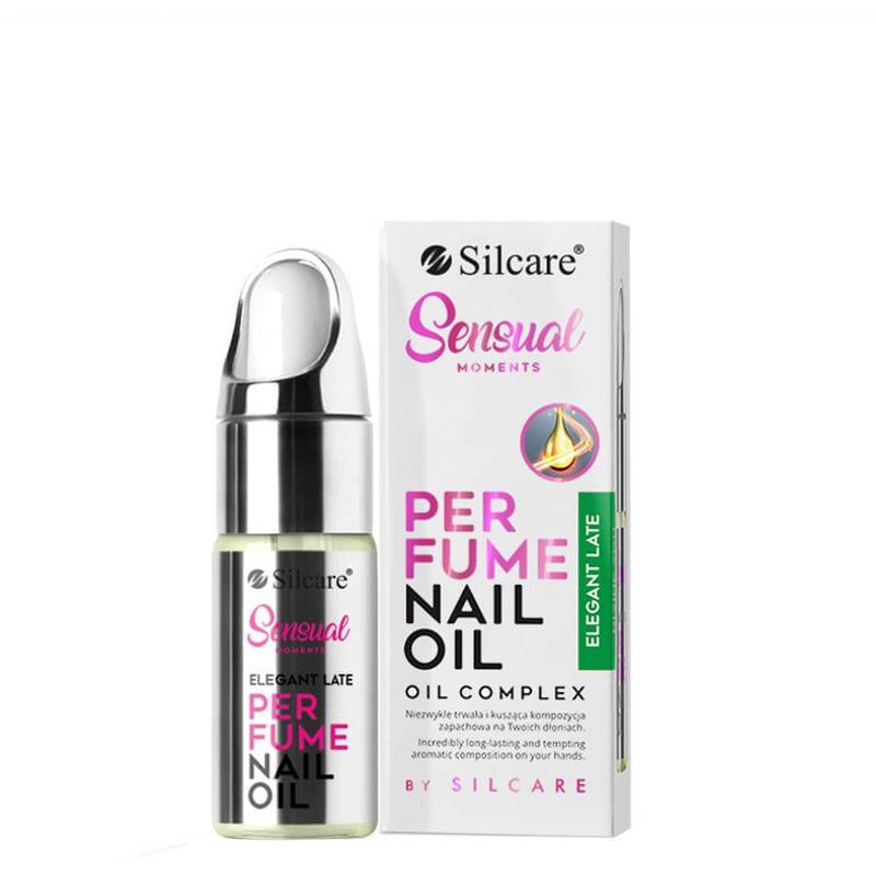 Silcare cuticle nail oil conditioner citrus perfumed fragranced