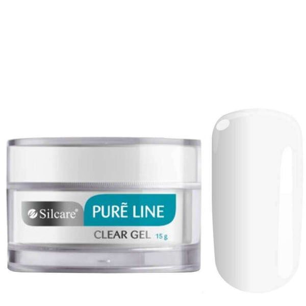 silcare pure line nail gel clear 15g