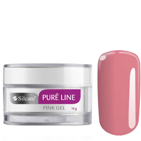 silcare pure line gel pink 15g