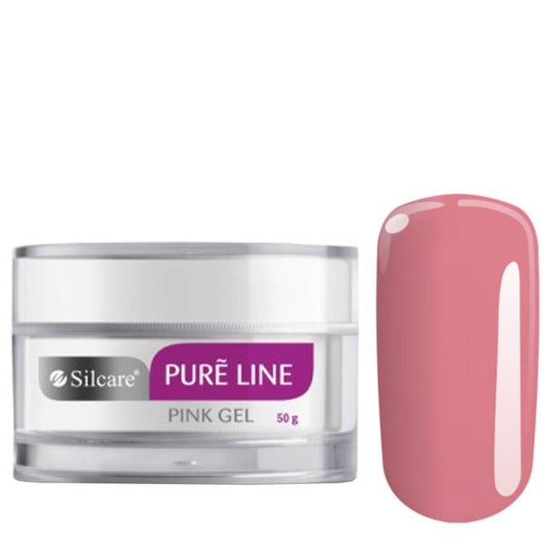 silcare pure line gel pink 50g