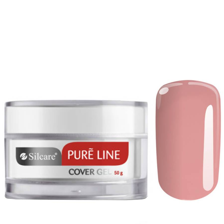 silcare pure line building nail gel cover