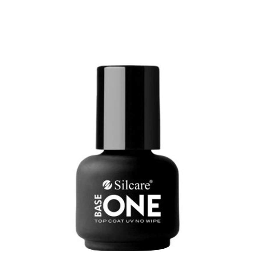 Silcare Top Coat UV No Wipe Natural Gel Arcylic Nails